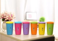 Wholesale Multi style Color Options Wow Cup for Kids with Freshness Lid Spill Free Drinking Cup Baby Magic Cup Hot Children Cups Drinkware