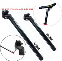 Wholesale High Quality Bicycle Seatpost Frosted Black Aluminium Alloy MTB Mountain Road mm mm Bike Seat Post