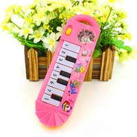 Wholesale Brand New Baby Infant Toddler Kids Musical Piano Developmental Toy Early Educational Game Pc TY02110