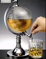 bar drink dispenser - SWISSANT Mini bar decoration Creative mini globe water dispenser personality beer drinking machine home decor