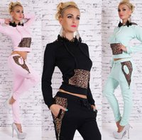 Wholesale Manufacturers selling women s new leisure sport suit high quality leisure sport suit the spring and autumn period and the leisure sport suit
