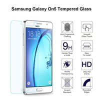 anti radiation screen protector - 2015 New Glass Ultra Thin mm H d High Clear Anti radiation Tempered Glass Screen Protector For Samsung Galaxy ON5
