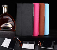 Wholesale Magnet Stand pu leather case cover for Lenovo Tab A7 A7 F A7 inch tablet cover case screen protectors stylus