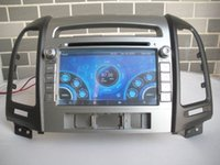 Wholesale Car DVD Radio Audio Multimedia Player GPS For HYUNDAI SANTA FE Retail Pc