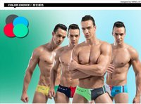 Wholesale Sexy Mens Low Rise Swimwear Briefs New swimwear brand Desmiit colors Men s Swimming Shorts Beach Swim Wear Trunks