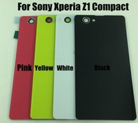 bar phone number - OEM New Mobile Phone Shell For Sony Xperia Z1 Compact M51W D5503 Housing Back Case Battery Cover Door With Sticker Tracking Number