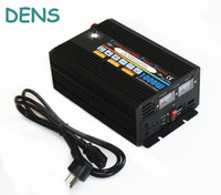 battery charger inverter - 1000w vdc to vac single output phase type UPS solar power inverter with A battery charger