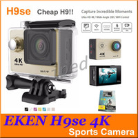 Wholesale EKEN H9se K Action Camera Wifi inch LCD WIFI HDMI M Waterproof MP K P fps Sports DV Helmet Cam Gopro Style Cheap H9 DHL