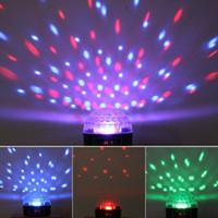 Wholesale Mini RGB LED Crystal Magic Ball DMX Stage Effect Lighting For Party Disco Club DJ Light Show