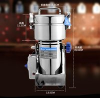 bean herb - Household new Electric Herb Coffee Beans Grain Grinder Cereal Mill Powder Machine Flour g