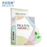 Wholesale PILATEN Authorized Box High Quality Cleansing Soft Cotton Pad Cosmetic Face Makeup Beauty Remover Tools