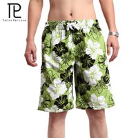 Wholesale Tailo Pal Love Leisure Floral Men Swimwear Shorts Brand Men Beach Shorts Casual Summer Clothing Beach Surfing Wear Quick Drying