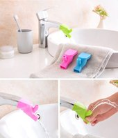 Wholesale Silicone Faucet Extender Helps Kids Reach Faucet in the Bathroom Fun Toys