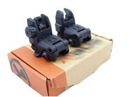 Wholesale Back up Sight Gen Front And Rear Folding Sights For Airsoft BK