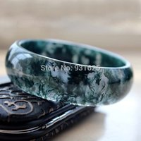Wholesale NEW Wonderful Aquatic plants natural agate bracelet float grass crystal accessories white agate Bangle Bracelet with certificate