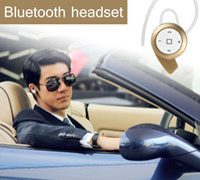 Wholesale Black stereo headset bluetooth earphone headphones mini wireless bluetooth handfree for iPhone Samsung and drop ship