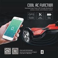 app bag - APP CONTROL wheel Self balance Scooter Bluetooth Speaker Music Hoverboard Drift Skateboard electric Scooter with retail box and Bag