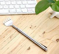 Wholesale 1000pcs Extendable Extending Telescoping Back Scratcher With Pen Pocket Clip Handy Pocket Portable Stainless Steel Body Scratch Scratcher