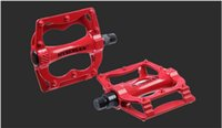 Wholesale Lightweight Bike Pedals Aluminum AlloyCycling Pedals Dead Fly Bike Pedals Bright colors Fashinalble pedals High Quality Chinese Famous Brand