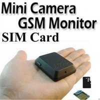 Wholesale X009 Mini GPS Tracker Locator Camera Monitor Audio Video Record Monitor GSM Monitor Video Recorder GPS Tracking Deveice