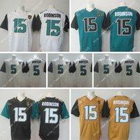 america logos - Newest NWT NIK Elite Jaguars Allen Robinson Blake Bortles Men s Stitched Embroidery Logos America Football Jerseys Sweatshirts Uniforms