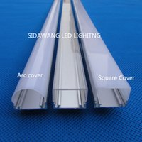 aluminium extruded profiles - DHL m led channel Extruded led aluminium profiles for mm PCB board led bar light QC