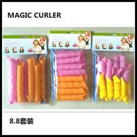 amazing style - 2016 Amazing Magic Leverag Hair Curlers Curlformers Hair Roller Hair Styling cm long Tools DHL Free