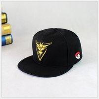 Wholesale Go Hat Team Mystic Valor Instinct Cap Snapback discount Cheap men and women Adjustable Snapbacks Baseball Hats Ball caps