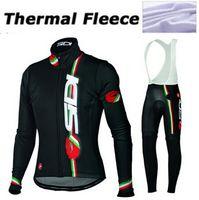active pro gear - Pro Italy Tracksuits Winter Thermal Fleece Men Cycling Clothing Cycling Jersey Set Bib Pants KTM Bike Gear Bicycle Suit Racewear XXS XL