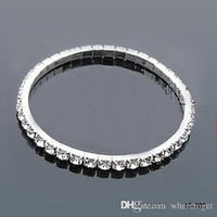 american girl bracelet - Hot Sale Wedding Tennis cm in Diameter Stretchy Rhinestones Wedding Bracelts Hot Sale Spring
