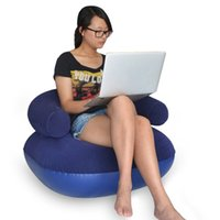 bean bag sales - Popular Sales Home Furniture Inflatable Sofa Comfy Lounger Chair Seat Reading Relaxing Bean Bag Living Room Sitting Sofa JF0061