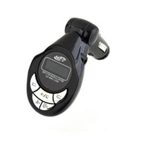 Wholesale New Hot Car MP3 Player Wireless FM Transmitter Modulator USB SD CD MMC Remote FM channels Freeshipping