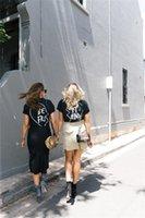 best graphic tees - Jahurto Best Friends T shirt Summer Punk Rock BEST FRIEND Graphic Tees Women Printed Casual T Shirt Women