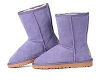 venda por atacado botas curtas-2016 New real Austrália Top Quality 582 U 825 femininas botas WGG Clássico Curto Botas Mulheres botas bota de neve do inverno botas de couro de inicialização Shoes