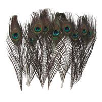animals ornaments - USA Lot100 x cm Elegant Decorative Real Natural Peacock Feather Beautiful Feathers J03327
