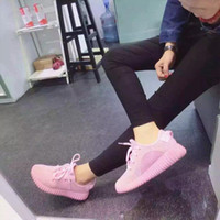 Wholesale 2016 spring new shoes fashion shoes pink coconut flat shoes casual sports shoes running shoes