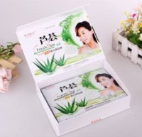 algae plant - Special New Aloe and Alga Plant Collagen Crystal Mask Anti aging Moisturizing Whitening Facial Mask Face Care Product bag