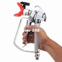 airless spraying machines - 250kg Pressure PSI Airless Spraying Gun Machine Paint No Gas Guard