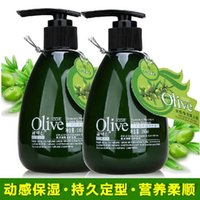 Wholesale pc Olive shape moisturizing Elastin ml curl special modelling Nutrition submissive hair styling product hair care CH019