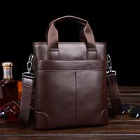 Wholesale The new special leather man bag Men s shoulder bag Messenger bag business bag Korean casual bag tide