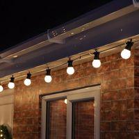 best christmas decor - Best M Globe String Light Clear Milky Bulbs Connectable Vintage Festoon Globe Ball String Light Party Christmas Fairy Light Decor