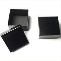 Wholesale Tie tie g kraft paper drawer tuberous padding Heaven and earth covered black gift box accessories