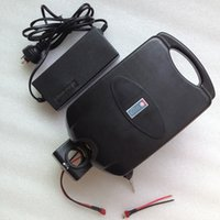 Wholesale Great Rechargeble Electric Bike lithium battery V AH Samsung cell battery with BMS Board and Charger