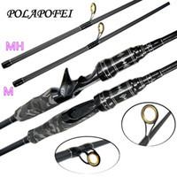 abu accessories - 2 m Tip Carbon Fishing Spinning Casting Lure Rod Pod M MH Feeder Fly Pole Olta Peche Accessories fit daiwa abu garcia reel F