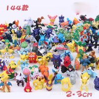 Wholesale Anime Pocket Monster Toys Poke go Action Figure Mini Pikachu Minifigure Action Figures Toy christmas gifts