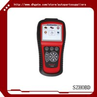 automotive transmission repair - 100 original MaxiDiag Elite MD802 MD For System With Datastream Model Engine Transmission ABS and Airbag Code Scanner