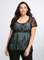 babydoll blouse - L XL Plus Size Women Lace Babydoll Peplum Tunic Top Blouse Big Large Size Clothing Oversize XL XL XL XL XXXXL Summer