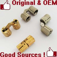 Wholesale supply hinge x12mm brass hidden invisible hinge