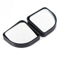 Wholesale 2pcs Fan shaped blind spot mirror Car Safty Mirrors Small CAdjustable Mirror Rear View Mirror