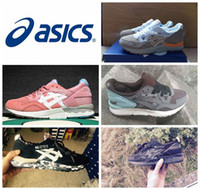 asics gel shoes - 2016 New Colors Asics Gel Lyte V5 Running Shoes For Women Men Lightweight Breathable Athletic Casual Shoes Sport Sneakers Eur Size